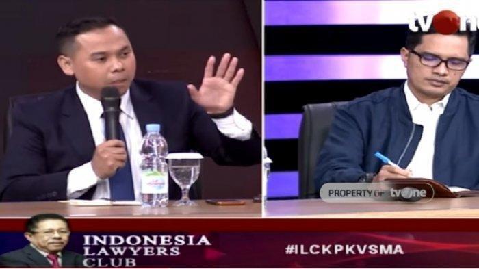 Sejarah Baru, KPK Kalah di Mahkamah Agung, Tersangka Korupsi Bebas, ILC TV One Tadi Malam