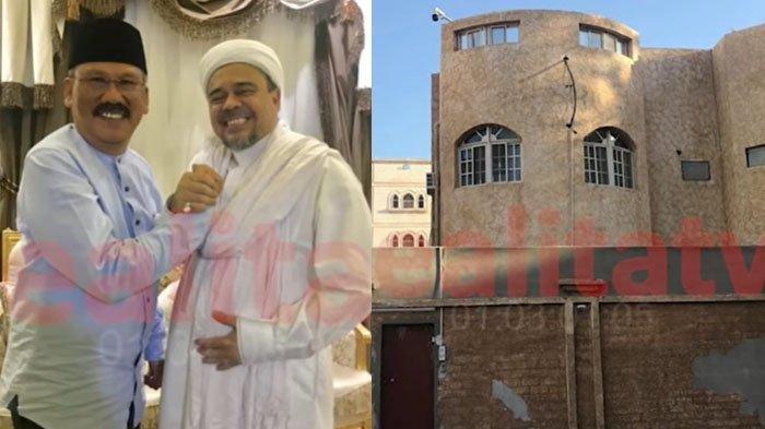 Ilham Bintang Ungkap Kondisi Rumah Habib Rizieq Shihab di Arab Saudi: Ruang Utamanya Muat 80 Orang