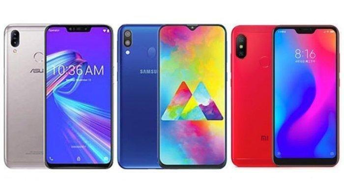 Inilah Perbandingan Spesifikasi & Harga Ponsel Galaxy M20, ZenFone Max M2, dan Redmi Note 6 Pro