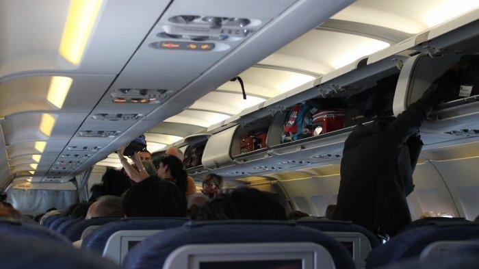 Ilustrasi bagasi kabin.