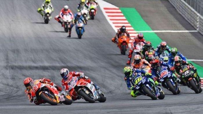 LIVE MotoGP 2019 Sirkuit Jerez, Pendapat Valentino Rossi hingga Quartararo yang 'Dicekik' Marquez