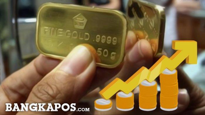 UPDATE: Harga Emas Naik Lagi, Berikut Rinciannya di Kantor Pegadaian Pangkalpinang