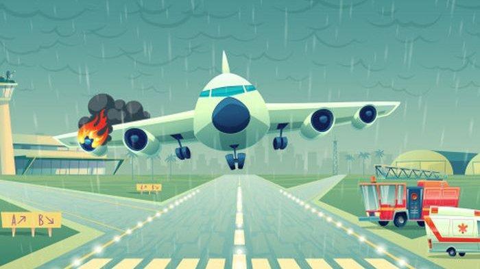 FAKTA-fakta Kecelakaan Pesawat Termasuk Tempat Duduk Paling Aman di Pesawat