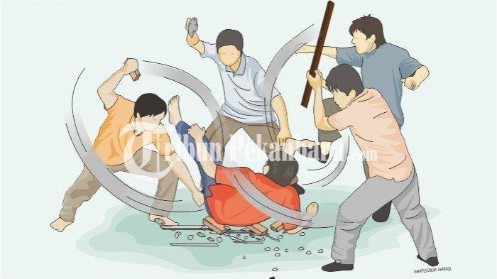 Pengakuan Dua Karyawan Hotel Dikeroyok 7 Orang Tamu, dan Disaksikan Polisi Malah Dilaporin