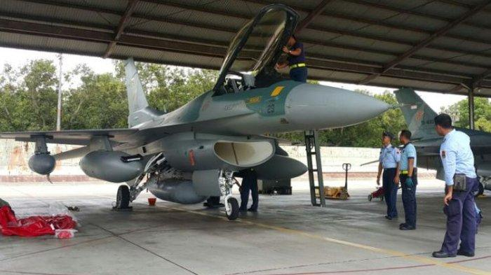 Unik Begini Cara TNI AU Bangunkan Sahur Warga Gunakan Pesawat Tempur Intip Daerah yang Dilewati