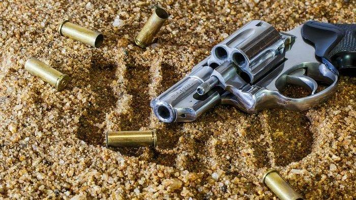 Aksi Koboi Suami di Tulangbawang, Istri Bikin Kesal Minta Cerai, Tembak dengan Pistol Kena Ini