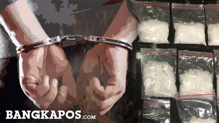 Lagi, Warga Toboali Ditangkap Polisi, Barang Buktinya Sabu