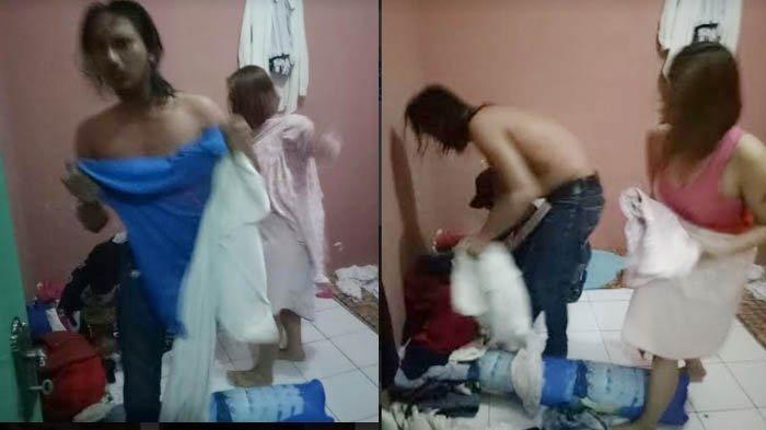 Sedang Memadu Kasih di Kamar Kos, Oknum PNS Digerebek Istri