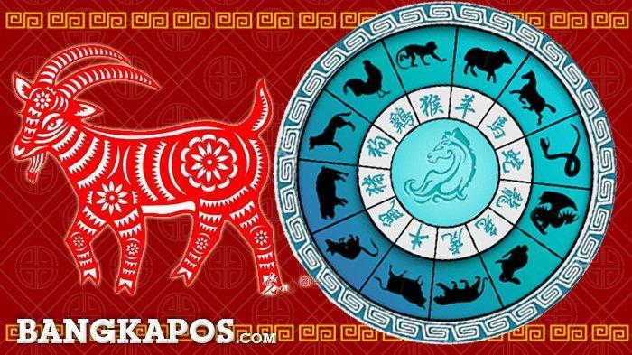 Ilustrasi shio kambing