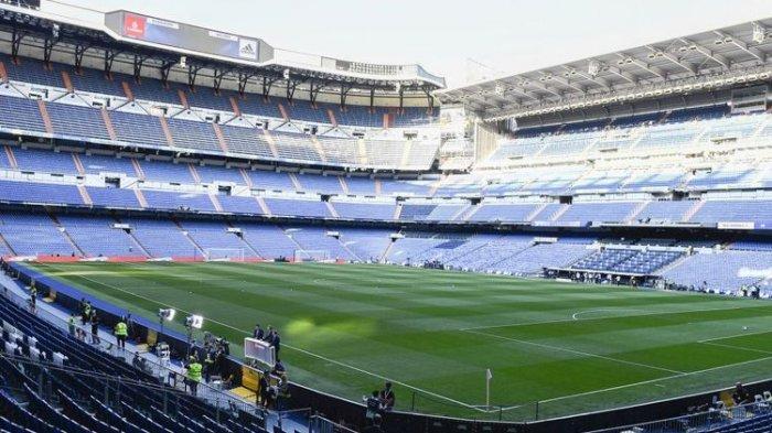 Real Madrid Jadikan Santiago Bernabeu Pusat Persedian Kebutuhan untuk Perangi Virus Corona