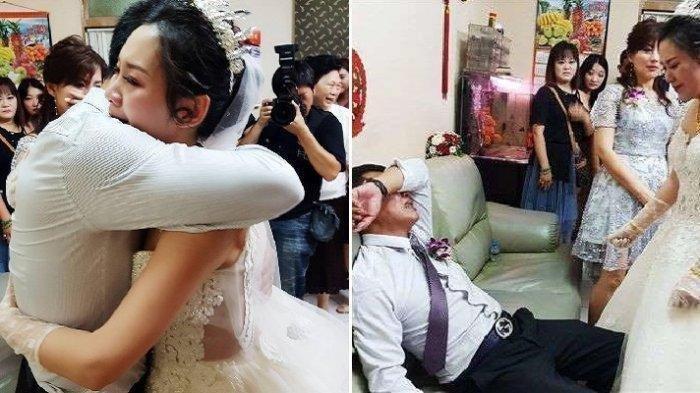 Wanita ini Terkejut saat Datang ke Pesta Pernikahan, Sosok Mempelai Pria Ternyata Suaminya Sendiri