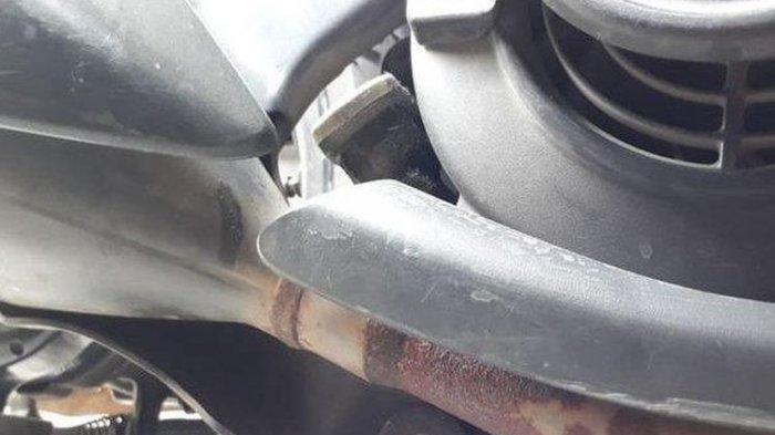 Ini Akibatnya Kalau Menyepelekan Knalpot Motor Bocor