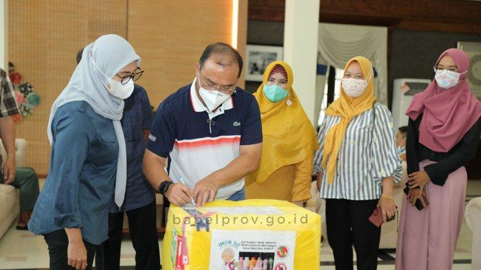 Gubernur Apresiasi Karya Anak Bangka Belitung, Minuman Peningkat Imun So Bagi Pasien Covid