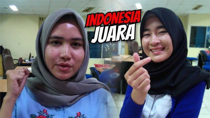 2 Cewek Bangka Yakin Timnas U22 Indonesia Juara Piala AFF U22, Ayo Garuda Muda!