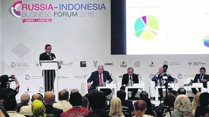 Bangka Belitung Semakin Dikenal Dalam Forum Bisnis Indonesia Rusia 2018
