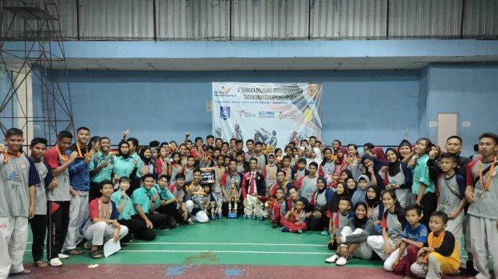 130 Medali Berhasil Diraih Tim Taekwondo Indoraga Nusantara Modus Babel