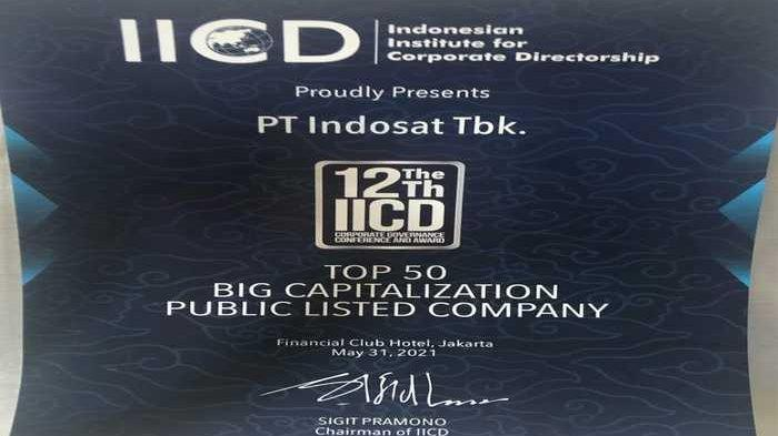 Indosat Ooredoo Raih Best Equitable Treatment of  Shareholders IICD Corporate Governance Award