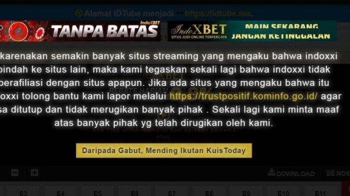 Ada Pihak Lain Pakai Nama IndoXXI, Jangan Pakai Situs Ilegal, Nonton Film di 6 Situs Resmi
