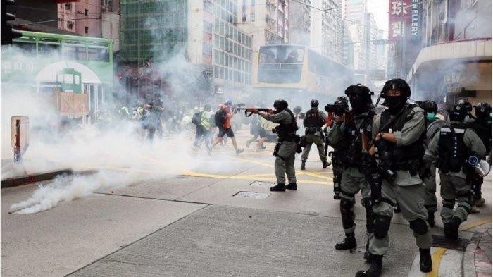 Ribuan Warga Hong Kong Tolak UU Keamanan buatan China, Inggris dan Taiwan Siap Lakukan ini
