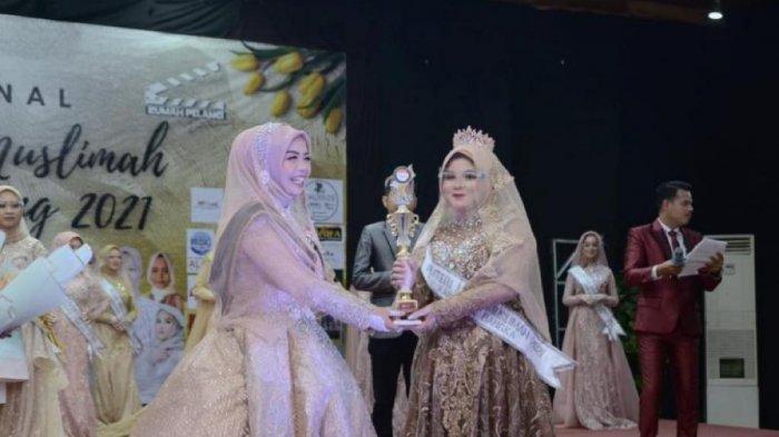 Mahasiswi IAIN SAS Babel Raih Juara I Putri Model Muslimah Bangka Belitung