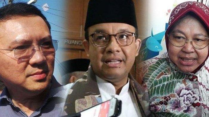 Hasil Survei Median Kandidat Terkuat Gubernur DKI Jakarta :Anies Baswedan, Risma dan Ahok