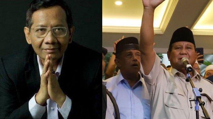 Prabowo Klaim Menang, Rizieq Shihab Ngomong 3 Poin, Mahfud MD Beberkan Sejumlah Fakta Ini