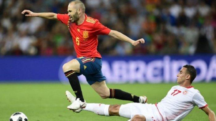 Karier 12 Tahun Iniesta Bersama Timnas Spanyol Berakhir dengan Kegagalan di Rusia