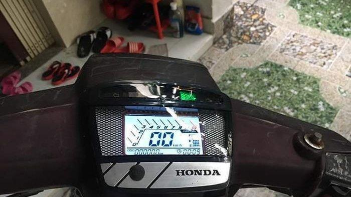 Jadul Tapi Canggih, Motor Honda Astrea Prima Pakai Speedometer Digital