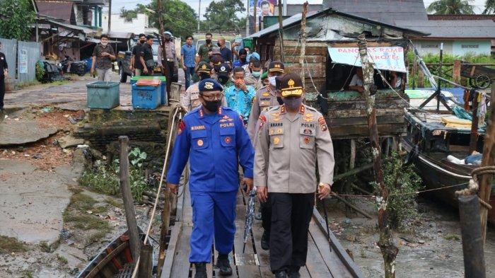 Kapolda Bangka Belitung Tinjau Pelabuhan Sungaiselan