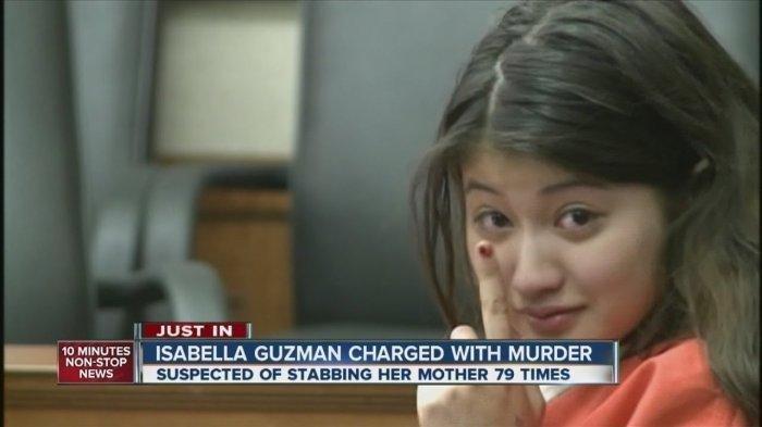 Isabella Guzman Masih Tersenyum, Nekat Habisi Ibunya 151 Kali Tikaman di Wajah dan Leher