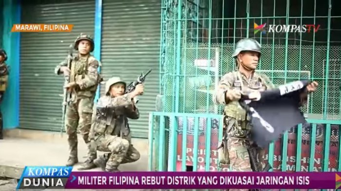 Perang Militer Melawan ISIS, 19 Warga Sipil Marawi Filipina Tewas