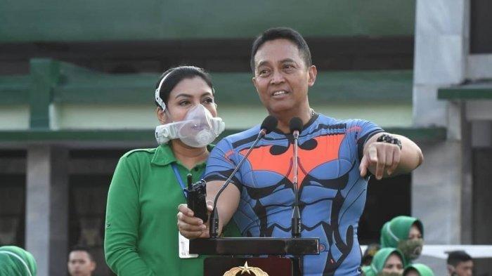 Alasan Hetty Perkasa, Istri KASAD Jenderal TNI Andika Perkasa Pakai Masker Khusus Seharga Rp 22 Juta