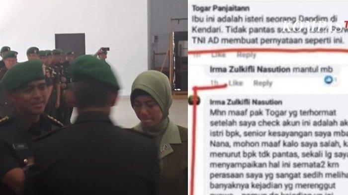 Istri Mantan Dandim Sempat Diingatkan Soal Postingan, Jawabannya Begini: Saya Anak TNI & Cucu Polisi