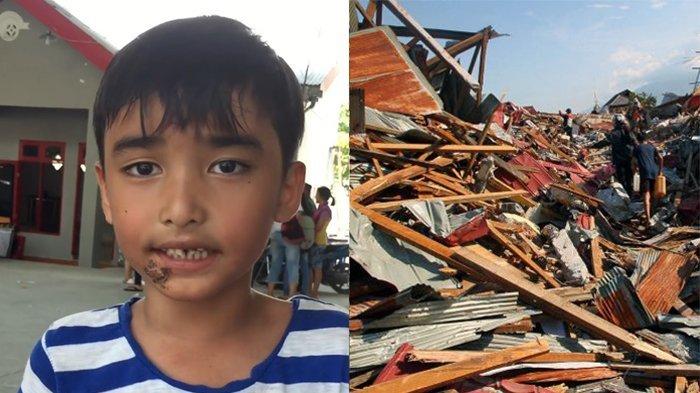 84 Anak Korban Gempa Palu Terpisah dari Orangtuanya, Jadi Rebutan Warga Untuk Diadopsi
