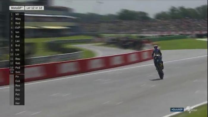Pembalap Tim Satelit Jack Miller Juara GP Belanda, Marquez Posisi Kedua, Rossi Terjatuh