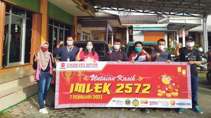 Untaian Kasih Imlek Bantu Warga di Tengah Pandemi Covid 19