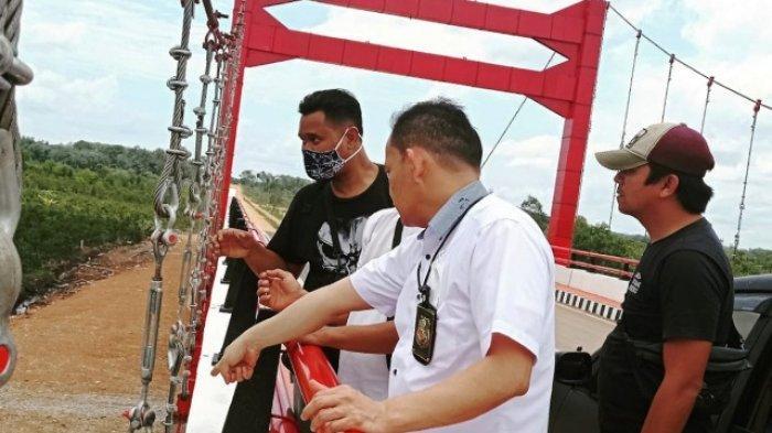 Penghubung Kawat Seling Jembatan Jerambeh Gantung Hilang, Berbahaya? Ini Kata Dinas PU Pangkalpinang