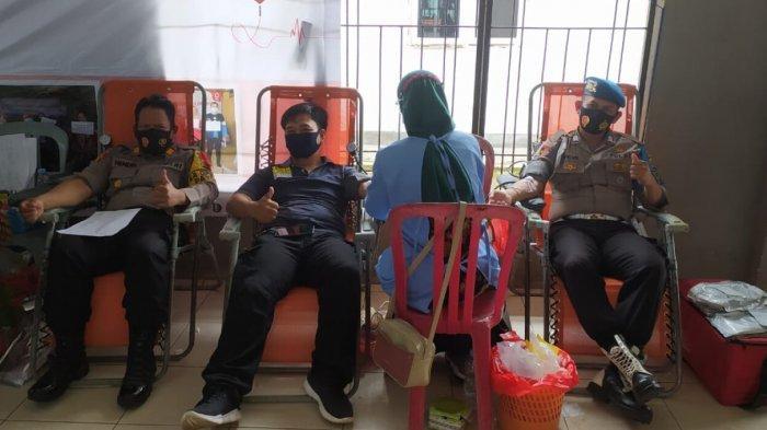 Kapolsek Payung Ikut Partisipasi Donor Darah di Gedung Kriopanting