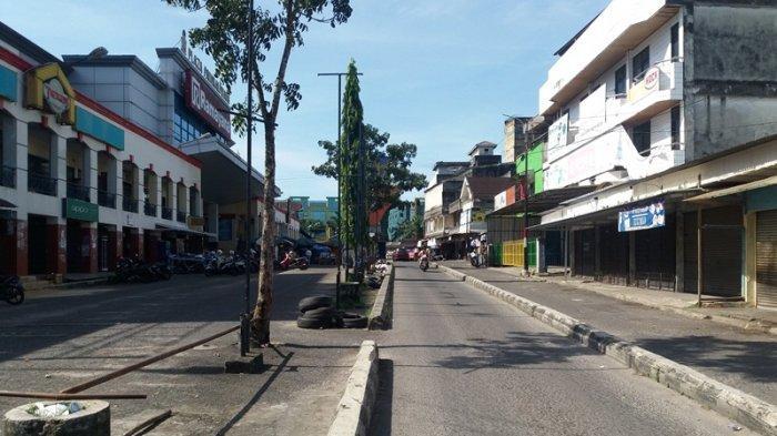 Hari Pencoblosan, Beberapa Ruas Jalan di Kota Pangkalpinang Lengang