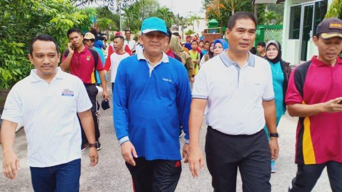 Peringati HAB Ke-74, Kanwil Kemenag Bangka Belitung Gelar Jalan Sehat