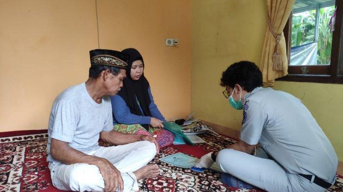 Jasa Raharja Babel Jemput Bola Serahkan Santunan Korban Kecelakaan Maut di Membalong Belitung