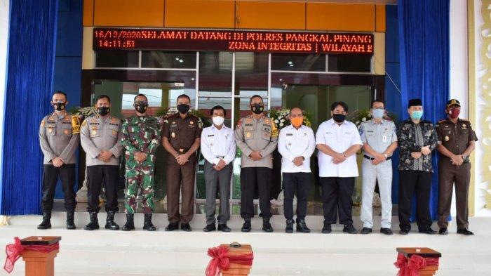 Kepala PT Jasa Raharja Cabang Bangka Belitung Hadiri Peresmian Gedung Polres Pangkalpinang