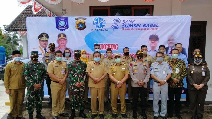 Launching Peningkatan Layanan di Samsat Toboali
