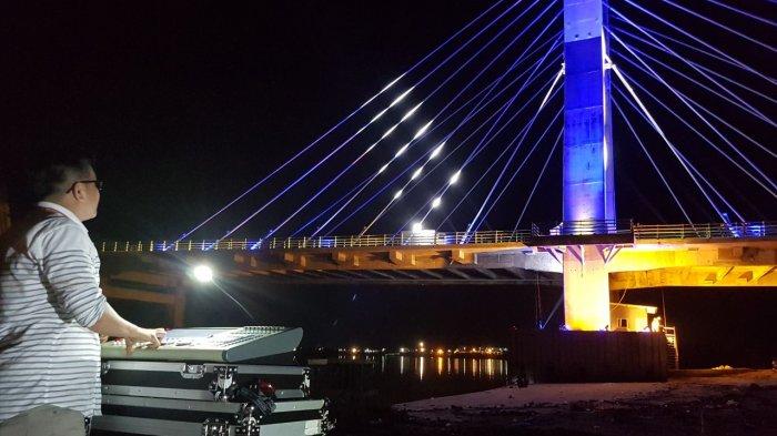 Begini Cara Asyik Nikmati Musik Jazz Ala Bangka Belitung di Jembatan Emas, Ini Maestro yang Tampil