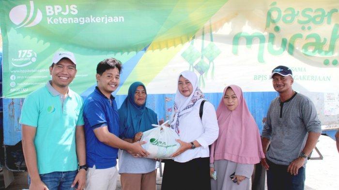 Jelang Bulan Suci Ramadhan, BPJS Ketenagakerjaan Gelar Pasar Murah