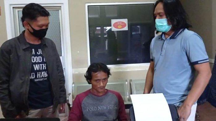 Pelaku pencurian Ricky Ervianza alias Jendol (38) diamankan Tim Naga Polres Pangkalpinang, Sabtu (10/10/2020)