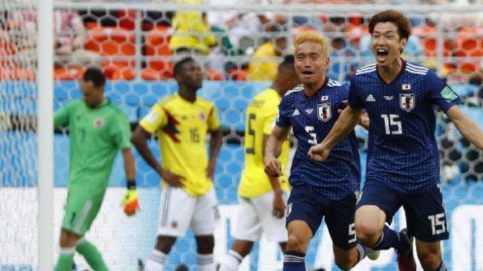 Tundukkan Kolombia, Jepang Awali Langkah di Piala Dunia 2018 dengan Cemerlang
