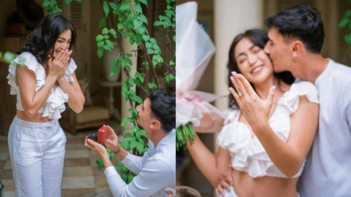 Jessica Iskandar dilamar kekasih Vincent Verhaag