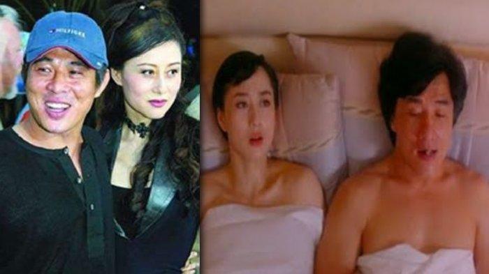 Kerap Beradegan Panas Sama Jackie Chan, Inilah Nina Li Chi Istri Cantik Jet Li