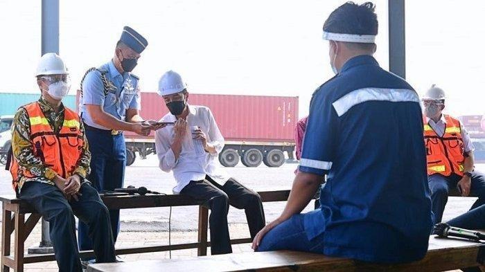 Dengar Curhat Sopir Soal Pungli dan Premanisme, Jokowi Langsung Telepon Kapolri, Ini Jawaban Kapolri